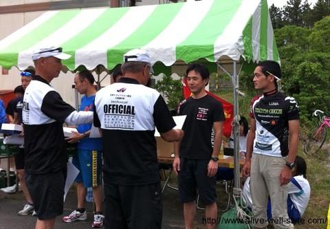 フレンドリー・デュアスロン磐田大会表彰式