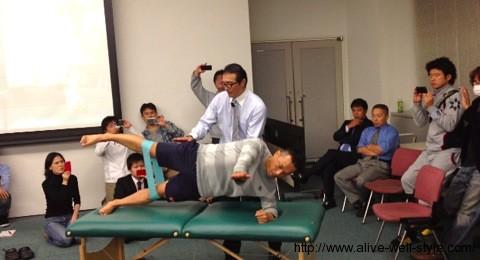 体幹トレーニング・コンディショニングセミナーの様子
