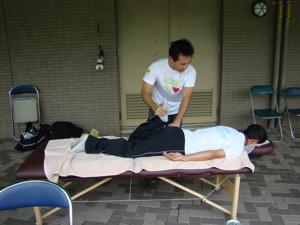 2008フォレスタヒルズボランティアの様子