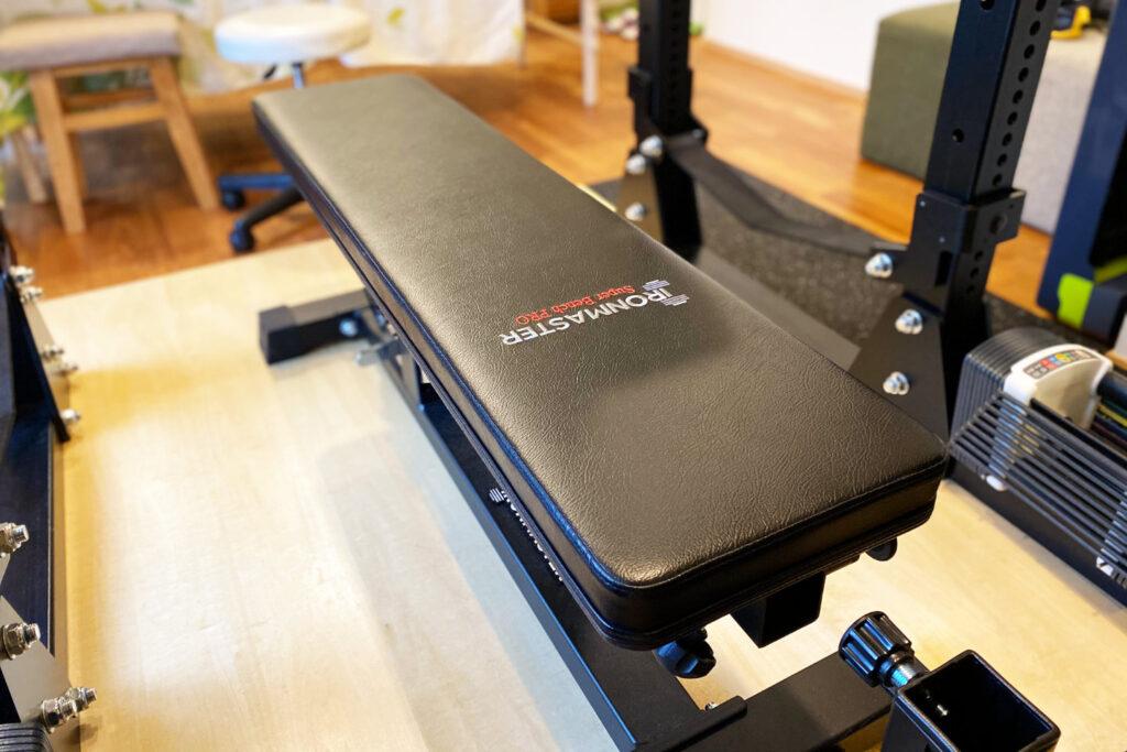 トレーニング設備:アイアンマスターのベンチ